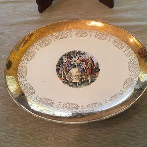 Crest-O-Gold  platter